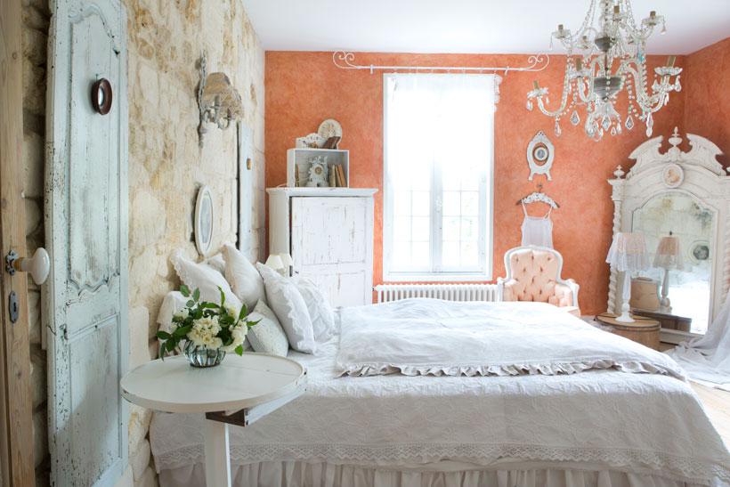 Vintage Shabby French Bedroom