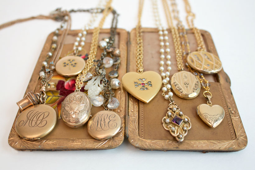 Antique lockets are available in a variety of shapes, sizes and price point. You're sure to find a piece that suits your style and your budget.