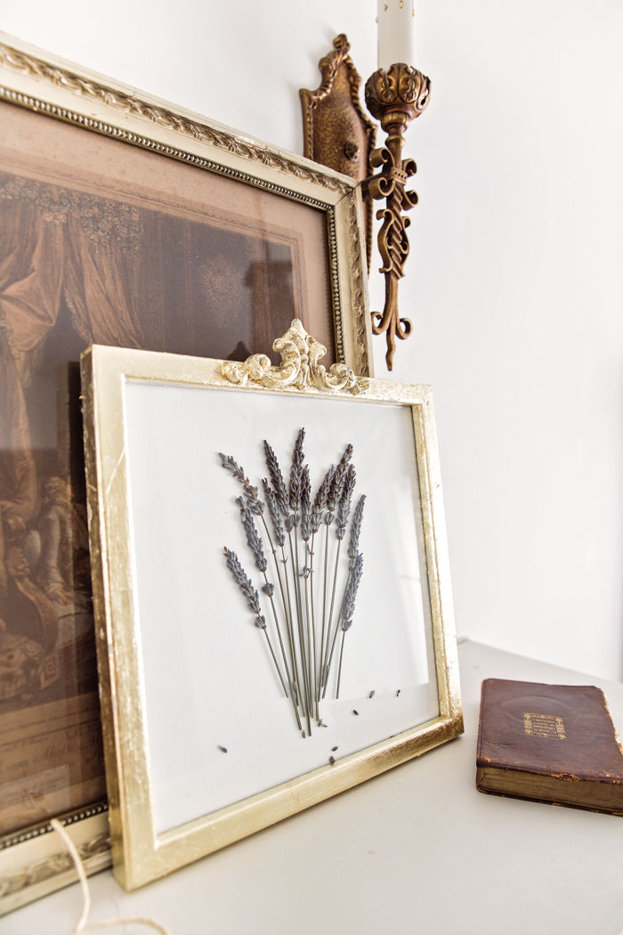 This simple project will give your home the perfect touch of French elegance. -Vintage French Decor by Jaimie Lundstrom