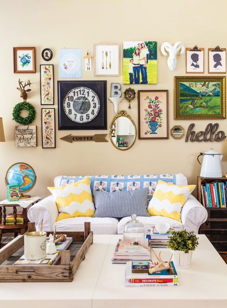 Farmhouse enthusiasts love to include rustic vintage items to their homes. Head out to the flea market and bring home whatever catches your fancy.