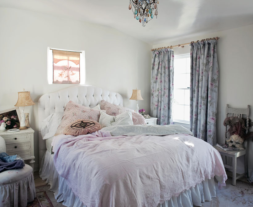 Shabby Chic bedroom design
