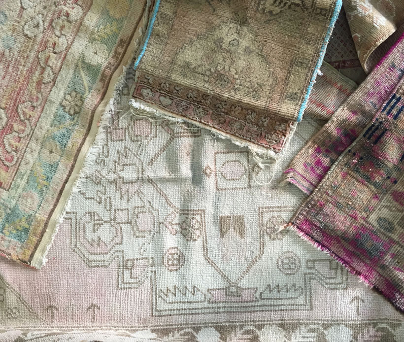 Rachel Ashwell's Shabby Chic rugs make a room both comfortable and cozy.