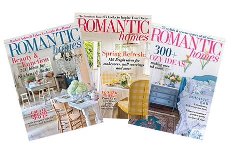 Subscribe: Romantic Homes Magazine