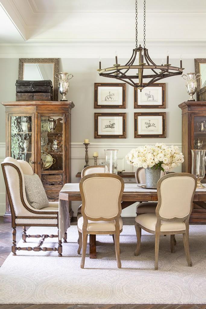 Rustic Elegant diningroom